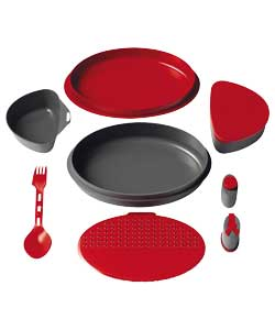 Red Meal Set