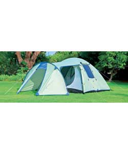 Action 4 Person Dome and Porch Tent