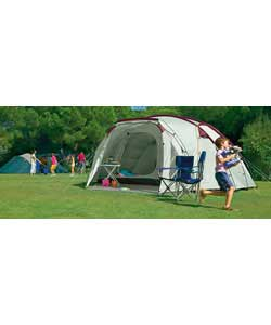Action Hyperdome 10 Person 2 Room Tent