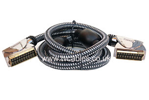PGV7500 Oxypure 1.5m RGB Only Scart Lead