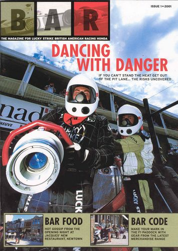 BAR Team Magazine Issue 1 2001
