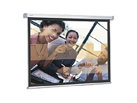 Slim Screen Electrol 153x200 Matte White