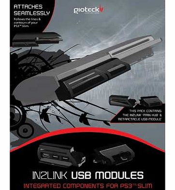 Gioteck PS3 Slim In2Link Pack Main Unit Plus