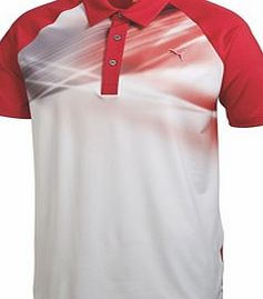 Puma Golf Mens Raglan Graphic Polo Shirt 2014