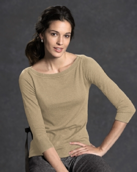 V-Neck Sweater With Button Cuff in Superfine