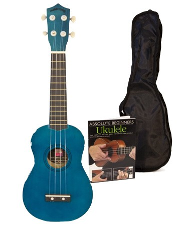 Blue Ukulele Pack