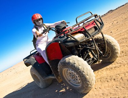Quad Biking Hurghada - 3 Hours