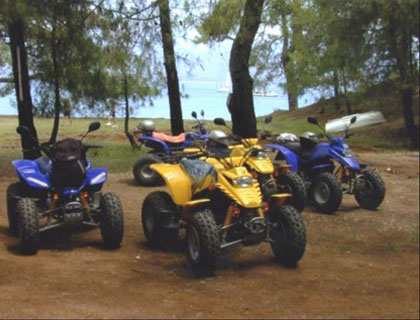 Quad Bike Double (2 people) from Fethiye