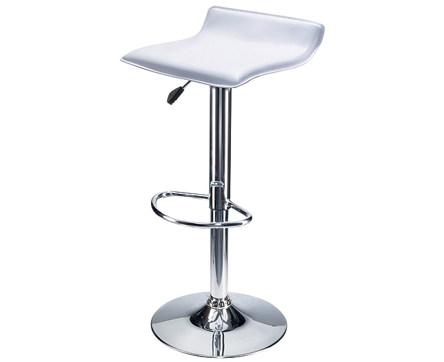 Stools Pair in White