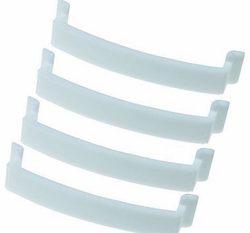Tumble Dryer Drum Bearing Pad Terra Compatible With Beko Pack Of 4