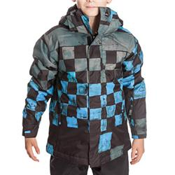 Quiksilver Boys Next Mission Snow Jacket - DNA SBk