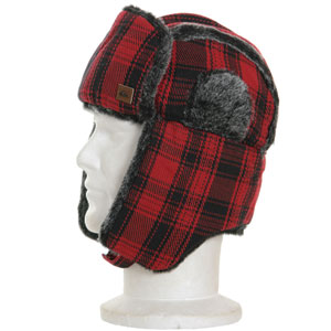 Kapach Trapper hat - Quik Red