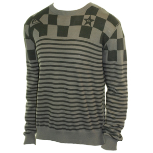 Mens Quiksilver Fundy Knit. Steel Grey