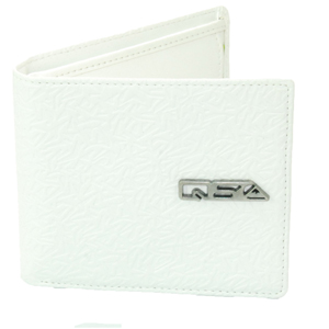 Mens Quiksilver Long Road Wallet. White