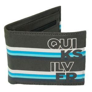 Mens Quiksilver My Lucky Day Wallet. Chocolate
