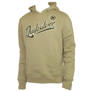 Mens Quiksilver Quikleft Maverick Hoody. Clay