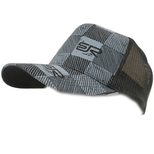 Mens Quiksilver Check Me Out Trucker Cap Black