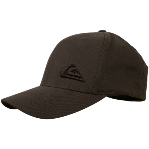 Mens Quiksilver Flexfit Cap Bark