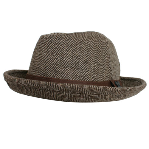 Mens Quiksilver Morlock Trilby Dark Brown