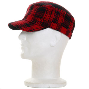 Oberst Military cap - Quik Red