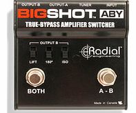 BigShot ABY True Bypass Switcher Pedal