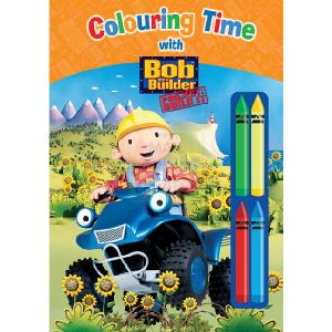 Colouring Time With Bob The Builder