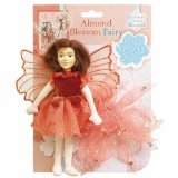 Flower Fairies Friends Almond Blossom Fairy 20cm soft fabric fairy