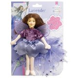 Flower Fairies Friends Lavender Fairy 20cm soft fabric fairy