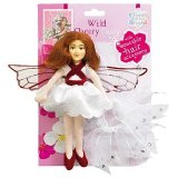 Flower Fairies Friends Wild Cherry Fairy 20cm soft fabric fairy