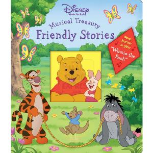 Rainbow Designs Winnie The Pooh Musical Treasury Friendly Stories