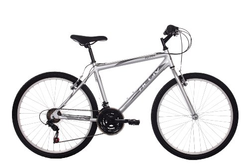 Activ Mens Akan Mountain Bike - (Silver, 20 Inch, 20 Inch, 26 Inch)
