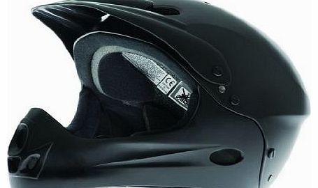 DB Full Face Helmet - Black, Medium