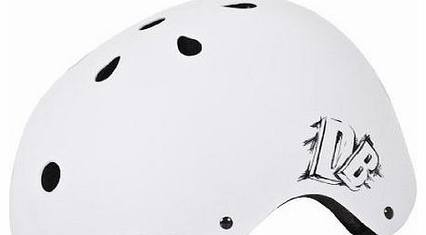DB Jump Helmet - Matt White, Medium