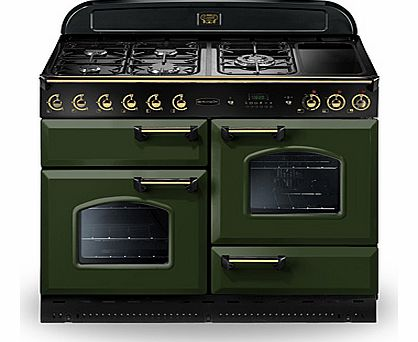 Rangemaster CLAS110DFFRGB Gas and Dual Fuel