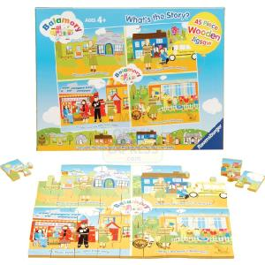 Balamory Wooden Jigsaw Puzzle 45 Pieces