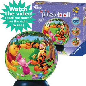 Ravensburger Junior Puzzleball Dancing with Winnie the Pooh 96 Piece