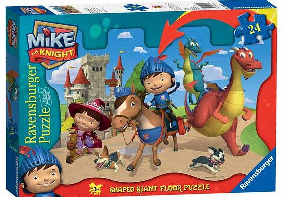 Mike the Knight Giant Floor 24pc