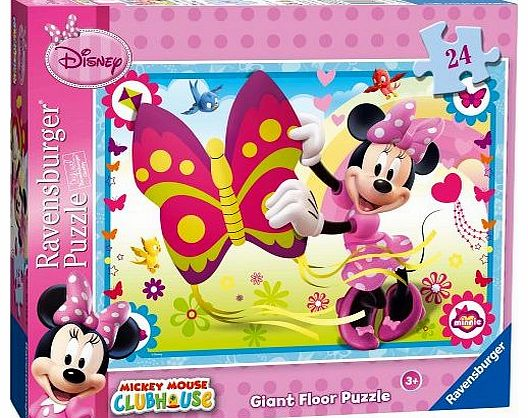Minnie Mouse Giant Floor Puzzle -