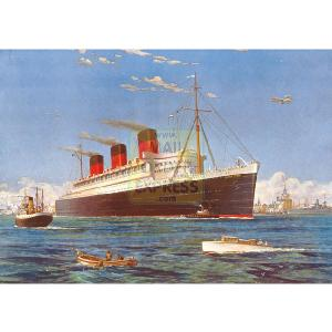 Queen Mary 500 Piece Jigsaw Puzzle