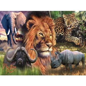 The Big Five 3000 Piece Jigsaw Puzzle