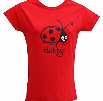Dotty womens T.shirt Sz 8