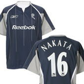Bolton Wanderers Away Shirt 2005/06 - with Nakata 16 Printing.