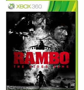 Rambo The Video Game on Xbox 360