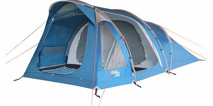 Premium 4 Man Weekend Family Tent with