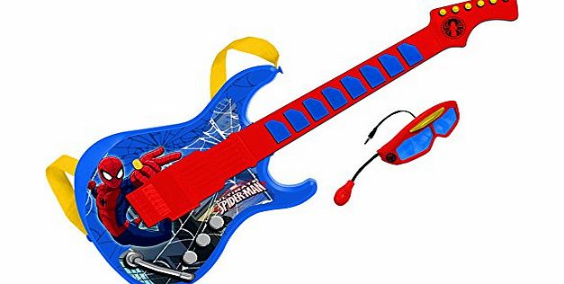 Reig Ultimate Spider-Man Guitar with Microphone and Glasses