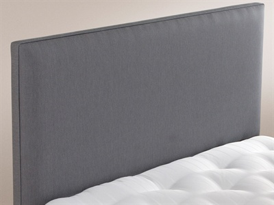 Modern Single (3) Wide Headboard Blueberry