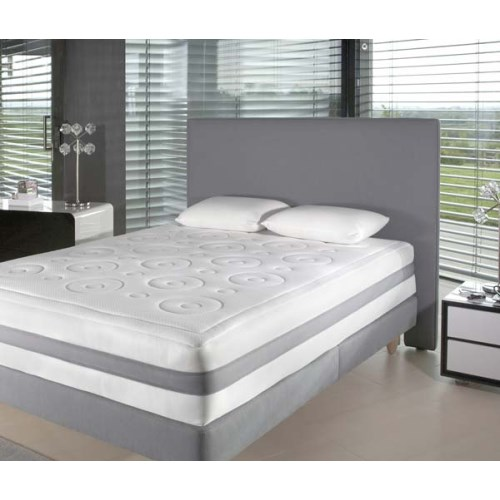 Relyon modern wide headboard in grey double review for Double headboards uk