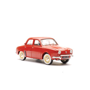 renault Dauphine 1958- Red 1:18