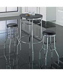Retro Breakfast Set And Bar Stools