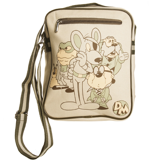 Canvas Danger Mouse Characters Flight Bag